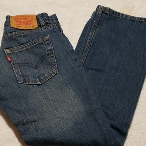 Levi's distressed boys jeans